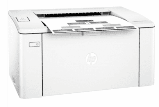 HP LaserJet Pro 102a Printer - White