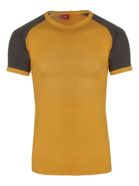 1-029 Yellow Grey Body Size T-Shirt
