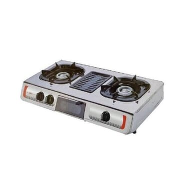 Akai Double Gas Burner With Grill