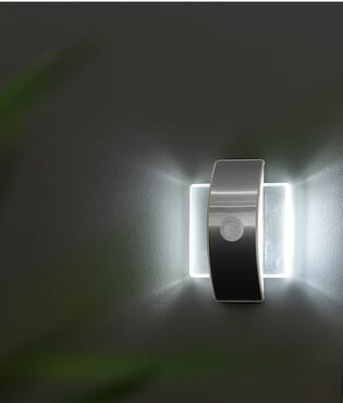 Rechargeable/Battery Powered Motion Sensor LED Wall Light