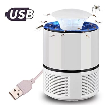 Electric Lamp Led Mosquito Killer White