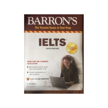 Barron's IELTS  6th edition( Latest edition)- Hardcopy