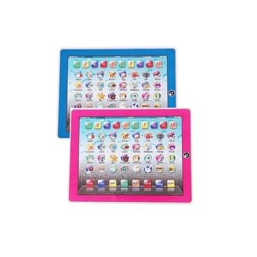 Kids Educational Ypad- 2pcs ( pink and blue)