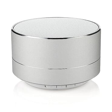 Universal A10 Bluetooth Speaker With FM Radio - Silver