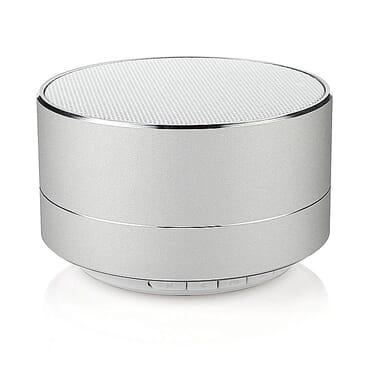 Universal A10 Bluetooth Speaker With FM Radio - Silver
