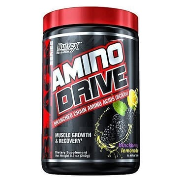 Nutrex Research Amino Drive (BCAAs), Muscle Growth & Recovery, 8.6 Oz (243g)