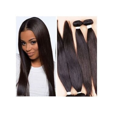 Straight Hair Wig- With Closure 20 , 22 inches