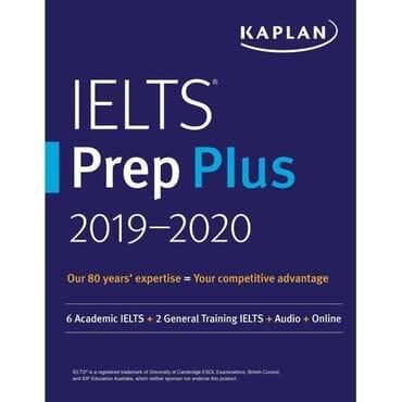 Kaplan IELTS prep plus 2019-2020