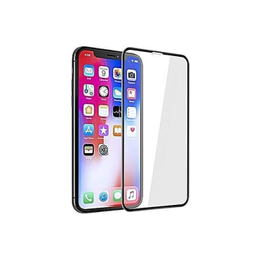 Generic IPhone X Screen Protector 5D Full Coverage Tempered Glass Screen Protector (Black)