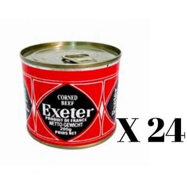 Exeter corned beef 200g x24