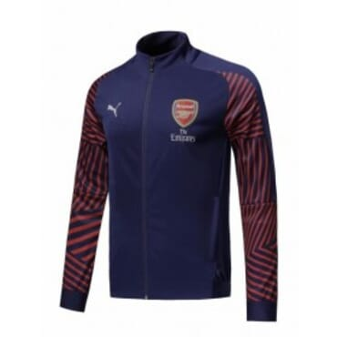 ARSENAL ANTHEM JACKET NAVY-BLUE