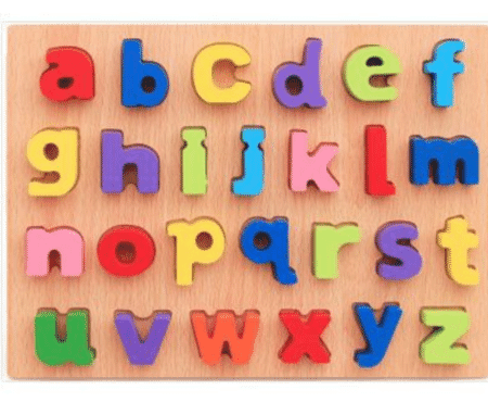 Alphabet Wooden Puzzle Learning Board