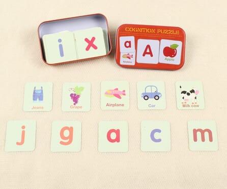 Alphabets Cognition Puzzle