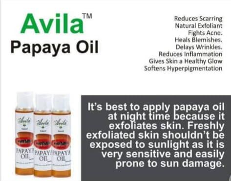 Avila Naturalle ( papaya oil )