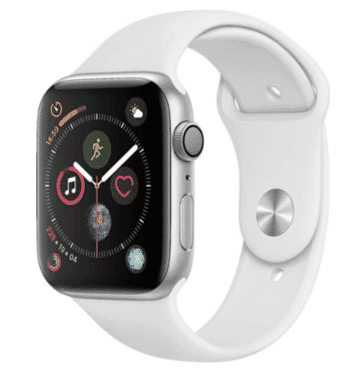Apple Watch Series 4 - 44mm - Silver - GPS Only