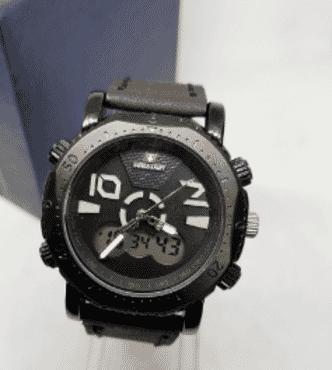 Swiss Army Analog And Digital Dual Wrist Watch