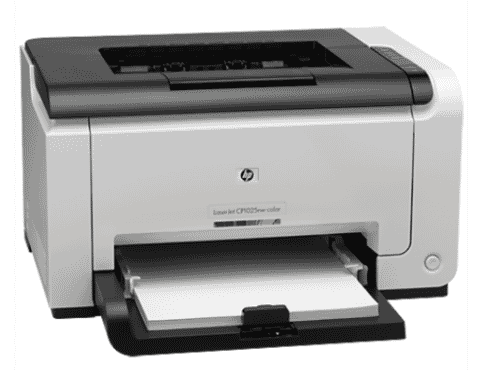 HP LaserJet Pro CP1025NW Color Printer- White