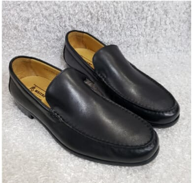 Plain Mastro Monk Loafers + A Free Happy Socks