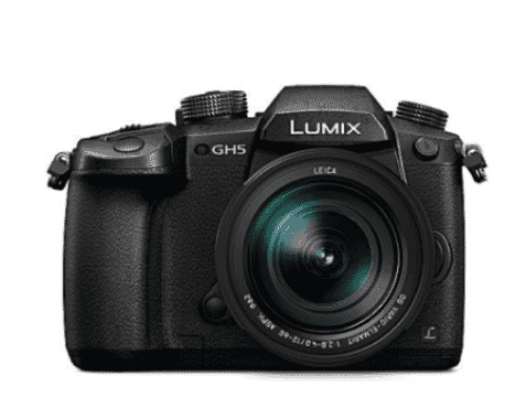 Panasonic LUMIX GH5 4K Mirrorless Camera (Body Only) - Black