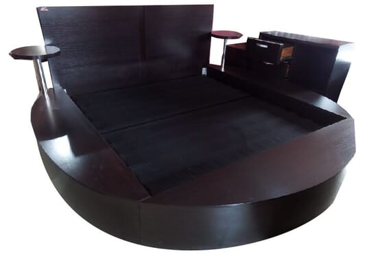 Exclusive Round Shape Bed Frame