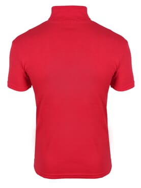 1-150 Red Turtle Neck Short Sleeve T. Shirt