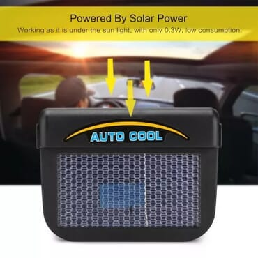 Auto Cool - Solar Powered Car Ventilation Fan