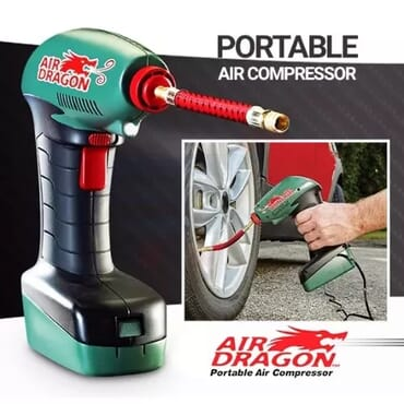 Air Dragon - Portable Car Tyre Air Compressor