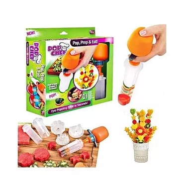 Pop Chef Fruit Cutter Decor Kit