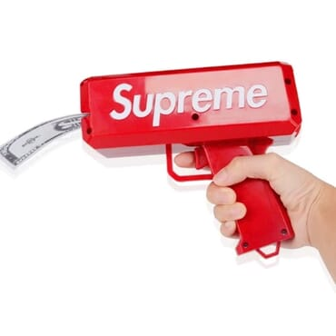 Supreme Money Spraying Machine