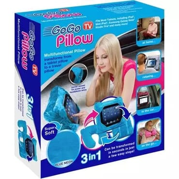 Gogo Multi-functional 3-in-1 Go Go Pillow