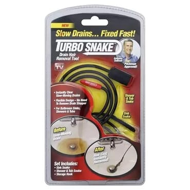 Turbo Snake Flexible Stick Drain Hair Removal Tool