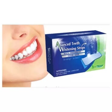 Advanced Teeth Whitening Strips - 14 Pouches