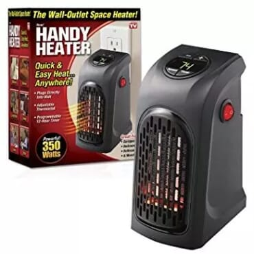 Handy Heater Portable Wall-outlet Electric Space Heater