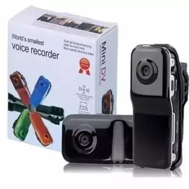 Voice Motion Activated Spy Camera Voice Recorder