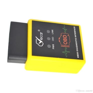 Bluetooth Car Code Reader Diagnostic Tool Elm327 - Yellow