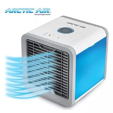 Universal Chef Arctic Air – Portable Personal Space Air Cooler + Humidifier