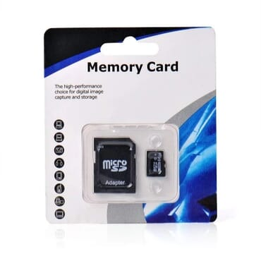 Memory Card With Adapter - 32GB