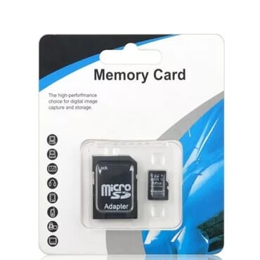 Memory Card With Adapter - 8 GB