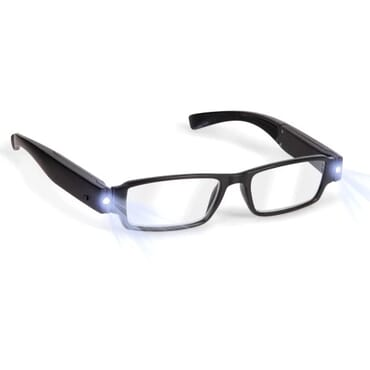 Led Light Night Vision Reading Glasses With Box