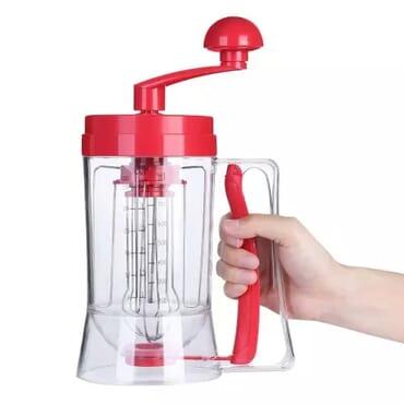 Manual Pancake Maker Machine And Dispenser