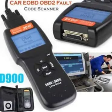 2018 Model - D900 Obd2 Diagnostic Car Scanner Tool & Kit Bag