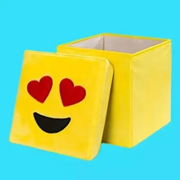 Love Eyes - Emoji Storage Box