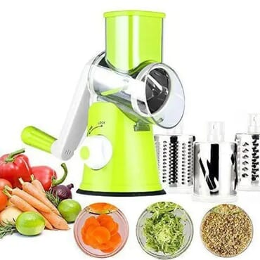 Table Top Drum Grater Vegetable Slicer