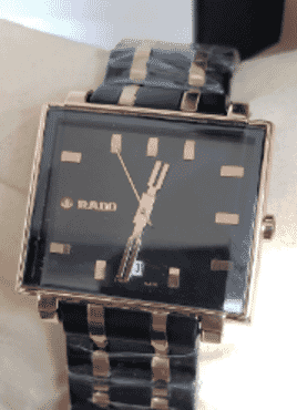Rado Gold And Black wrist Watch