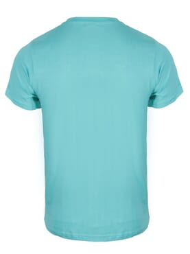 kanin Fashion Lite Green Round Neck T-Shirt