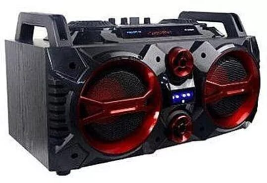 Polystar Wireless Hifi-boom Speaker + Fm + Usb/Sd Card