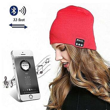 Generic Bluetooth Wireless Music Hat Ash Black