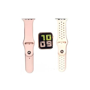 Smart Watch Fitness Tracker - Bluetooth Heart Rate & Blood Pressure Monitor