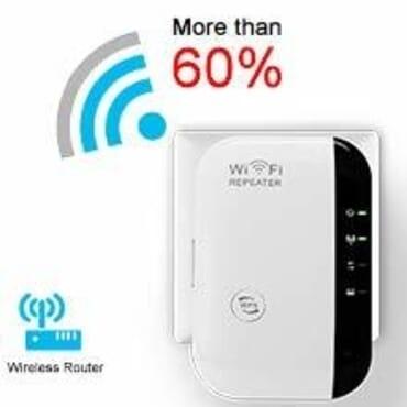 300Mbps -Wireless WiFi Repeater/Extender/AP/WI-FI Signal Range Amplifier/Booster, Mini 2.4G Portable WiFi Signal Range Extender With WPS For Router Home + 1 Free USB Keyboard Light.