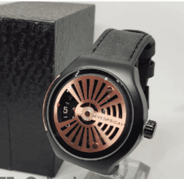 Seven Friday Leather Wrist Watch